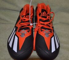 Adidas Mens QUICKFRAME Football Cleats Black Orange Size 10 NWOB