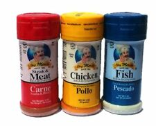 Chef Merito  Meat / Chicken / Fish Seasoning Trio Combo Pack, 3 oz, 3 pack