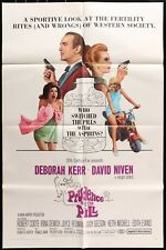 New listing Prudence and the Pill (1968) - original movie poster - David Niven groovy art!