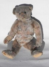 """Very Rare Early Antique Jointed Teddy Bear Mohair Excelsior Stuffed 10"""" Steiff?"""