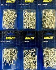 6,4x15  Blindniete Alu//Stahl Flachkopf POPNIETE KB 6,0-9,0mm Menge nach Wahl