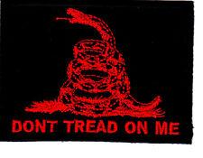 """DON'T TREAD ON ME""-Rattlesnake, Symbol, History, Freedom,Gadsden- Iron On Patch"