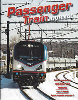 PASSENGER TRAIN JOURNAL 2nd Qtr 2014, Topeka, Virginia, Vermont, Chicago, NEW