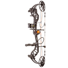@NEW@ Bear Legit RTH Compound Bow Hunting Package! Ghost/Shadow RH 10-70lb