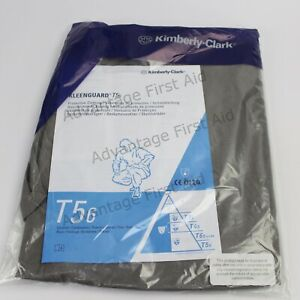 Kimberly Clark Kleenguard T56 Coveralls. Type 5/6 Disposable Overalls. L & XL