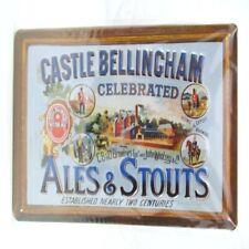 Blechschild Castle Bellingham Metall Schild 30 cm,Nostalgie Metal Shield