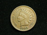NEW INVENTORY  XF 1903 INDIAN HEAD CENT PENNY w/ DIAMONDS & FULL LIBERTY #170i