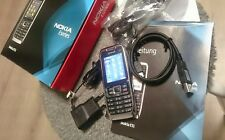 Nokia  E51 - White Steel (ohne Simlock) Smartphone Top Zustand !!!