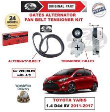 GATES Alternatore Tendicinghia Ventilatore KIT PER TOYOTA YARIS 1.4 D4d 8V