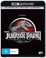 Jurassic Park 4K Ultra HD : NEW UHD Blu-Ray
