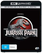 Jurassic Park (Blu-ray, 2018, 2-Disc Set)