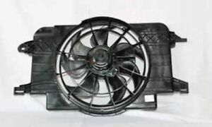 TYC 620390 Dual Radiator and Condenser Fan Assembly