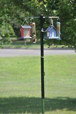New listing Bird Feeder Pole System Adjustable Squirrel Proof Deer Proof Bear Proof