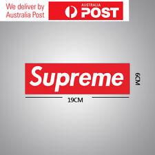 2/5/10 Pack Supreme Vinyl Sticker Snowboard Luggage Car Laptop Wall Red Box Logo