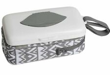 Baby Wipes Dispenser with Diaper Pouch 2 in 1 Portable Travel Clutch with.