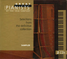 Great Pianists Of The 20th Century Sampler 2CD factory Sealed DigiPack NEW NEU