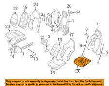 PORSCHE OEM 2001 Boxster Front Seat-Cushion Frame 99652150702