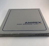 "Ampex 1/4"" X 1200' 7"" Reel Professional Audio Mastering Tape - Sealed NEW"