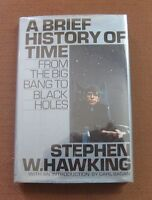 A BRIEF HISTORY OF TIME Stephen W. Hawking - 1st HCDJ 1988 - 1st state silver
