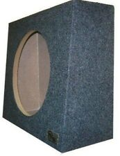 "Single Sub Speaker Truck Subwoofer Box 10"" Sealed Woofer Enclosure"