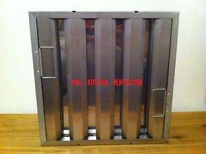 Kitchen Canopy Baffle Grease Filter 395x395x45mm