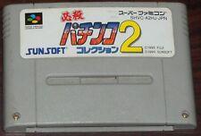 SNES. Hissatsu Pachinko Collection 2. NTSC JP SFC SHVC-A2HJ-JPN