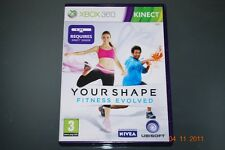 Su forma: Fitness evolucionado Xbox 360 Kinect Inglaterra Pal ** GRATIS UK FRANQUEO!! **