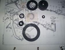 Ford Zephyr Zodiac Mk3 Maître-cylindre D'embrayage Réparation Sceaux Kit (1962 - 66)