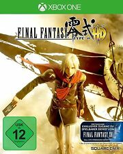 Final Fantasy Type-0 HD (Microsoft Xbox One, 2015, DVD-Box)