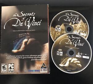 Secrets of Da Vinci: The Forbidden Manuscript (PC, 2006)