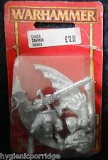 1998 chaos daemon prince ba games workshop greater demon 40K warhammer armée d&d