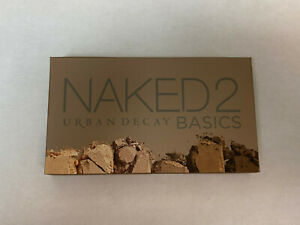 Urban Decay Naked2 Basics Eyeshadow Palette 6 Taupe & Brown Matte Neutral Shade