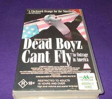 DEAD BOYZ CANT FLY VHS PAL HOWARD WINTERS