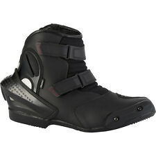Diora NF3 Motorcycle Hipora Waterproof Breathable Ankle Bike Boots Black Size 8