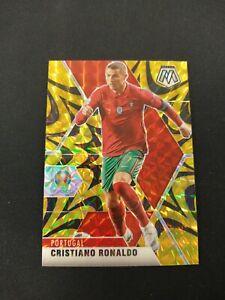 2021 Mosaic UEFA Euro Cristiano Ronaldo Gold Reactive PORTUGAL MANCHESTER UNITED