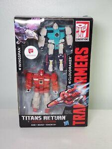 2017 Transformers WINGSPAN & CLOUDRAKER (Walgreens Exclusive) Titans Return NIB