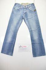 g-star slacks custom (Cod. D699) Tg.44  W30 L32  jeans usato vintage