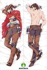 Over watch Jesse Mccree sm1780 Anime Dakimakura Body Pillow Case