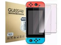Lot of Nintendo Switch Premium Tempered Ultra Clear Glass Screen Protector