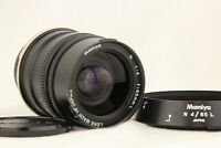 【 Optics NEAR MINT 】 MAMIYA N 65mm f/4 L MF Lens for Mamiya 7 7II from JAPAN