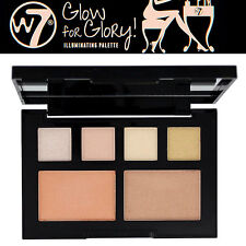 W7 Make up - Glow For Glory illuminating Face & Cheeks Glow Palette + Eye Shadow