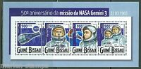 GUINEA BISSAU 2015 50th ANNIVERSARY OF THE GEMINI 3 SPACE MISSION  SHEET MINT NH