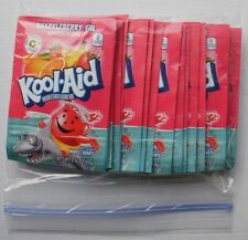 20 packets of KOOL-AID drink mix: SHARKLEBERRY FIN flavor, powdered, UNSWEETENED