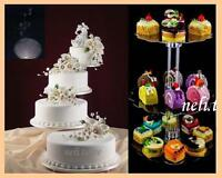 8 tier cascade wedding cake stand or fountain 9 tier cascading wedding cake stand stands set ebay 10517