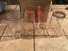 Set of 4 Drinkware Acrylic Hearth & Hand with Magnolia New in Box