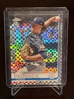 2019 Topps Chrome Update Chris Paddack Rookie Xfractor SP /199 San Diego Padres