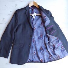 TED BAKER Endurance Jacket Strienj Pure Wool Vintage Soldier Army Lining 38R