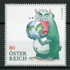 Austria Cartoons Stamps 2020 MNH Buying the Future Consumption Monster 1v Set