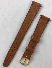 Kreisler Genuine Pigskin 13mm Brown Tan Ladies Leather Watch Band W101