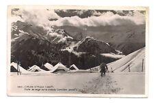 l'alpe d'huez chute de neige sur la cime du cornillon